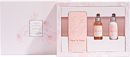 Parfumuri și produse cosmetice L'Occitane Cherry Blossom - Set (edt/75ml + sh/gel/35ml + h/cr/35ml)