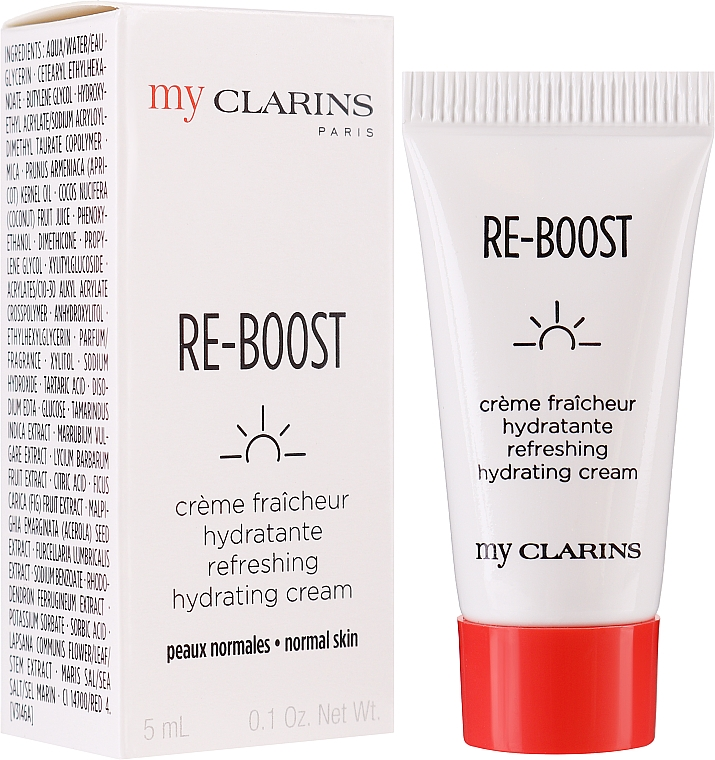 Cremă hidratantă de față - Clarins My Clarins Re-Boost Refreshing Hydrating Cream (mostră)