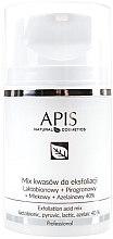 Parfumuri și produse cosmetice Peeling facial - APIS Professional Lacticion + Pirogron + Milk + Azelaine 40%