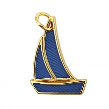 Parfumuri și produse cosmetice Pandantiv decorativ pentru mașină - Yankee Candle Sailboat Charming Scents Charm