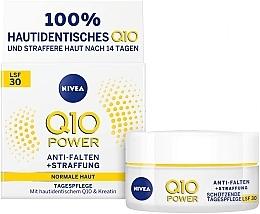 Parfumuri și produse cosmetice Cremă de zi antirid pentru ten normal - Nivea Q10 Power SPF 30