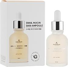 Parfumuri și produse cosmetice Ser cu mucină de melc și colagen - The Skin House Snail Mucin 5000 Ampoule