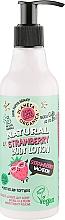 """Parfumuri și produse cosmetice Loțiune de corp """"Strawberry vacation"""" - Planeta Organica Natural Body Lotion Strawberry Vacation"""