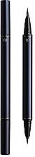 Parfumuri și produse cosmetice Eyeliner lichid, dublu - Cle de Peau Beaute Intensifying Liquid Eyeliner