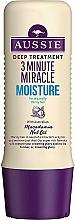 Parfumuri și produse cosmetice Balsam hidratant pentru păr - Aussie 3 Minute Miracle Moisture Deep Treatment