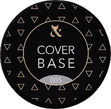 Parfumuri și produse cosmetice Bază camuflaj pentru gel-lac - F.O.X Cover Base