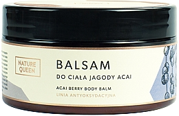 "Parfumuri și produse cosmetice Balsam de corp ""Acai Berry"" - Nature Queen Body Balm"