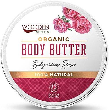 Organiczne masło do ciała Róża bułgarska - Wooden Spoon Bulgarian Rose Body Butter — фото N1