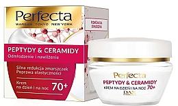 Parfumuri și produse cosmetice Cremă regenerantă pentru față 70+ - Perfecta Peptydy&Ceramidy