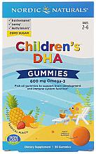 "Parfumuri și produse cosmetice Пищевая добавка для детей 600 мг ""Омега-3"" - Nordic Naturals Children's DHA Gummies"