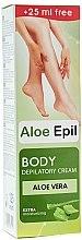 """Parfumuri și produse cosmetice Cremă depilatoare pentru corp """"Aloe"""" - Aloe Epil"""