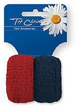 Parfumuri și produse cosmetice Set elastice de păr, 2 buc., 66924 - Top Choice