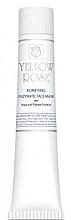 Parfumuri și produse cosmetice Mască facială pe bază de drojdie (tub) - Yellow Rose Purifying Enzymatic Face Mask