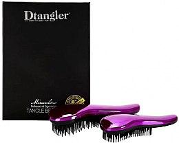 Parfumuri și produse cosmetice Set pierii de păr - KayPro Dtangler Miraculous Purple (2xbrush)
