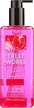 Parfumuri și produse cosmetice Săpun - Grace Cole Fruit Works Hand Wash Rhubarb & Pomegranate