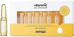 Parfumuri și produse cosmetice Fiole iluminatoare pentru față - SNP Prep Vitaronic SOS Ampoule