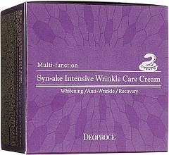 Parfumuri și produse cosmetice Cremă cu venin de șarpe pentru față - Deoproce Syn-Ake Intensive Wrinkle Care Cream