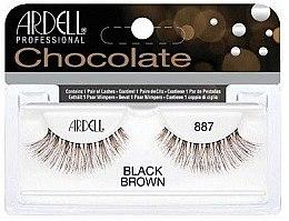 Parfumuri și produse cosmetice Extensii gene - Ardell Chocolate Lash Black Brown 887