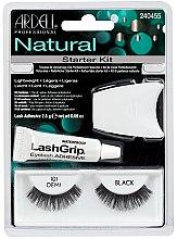 Parfumuri și produse cosmetice Set - Ardell Natural Starter Kit Demi Black 101