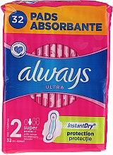Parfumuri și produse cosmetice Absorbante, 32 bucăți - Always Ultra Super Plus