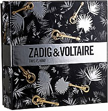 Parfumuri și produse cosmetice Zadig & Voltaire This is Him - Set (edt/50ml + sh/gel/100ml)