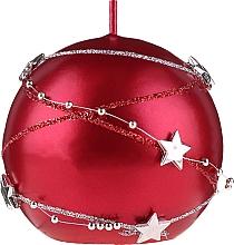 Parfumuri și produse cosmetice Lumânare decorativă, roșie, 8cm - Artman Christmas Garland