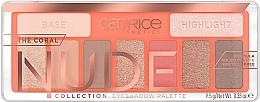Parfumuri și produse cosmetice Paletă farduri de pleoape - Catrice The Coral Nude Collection Eyeshadow Palette