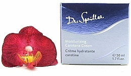 Parfumuri și produse cosmetice Cremă hidratanta cu caroten, pentru față - Dr. Spiller Moisturizing Carotene Cream