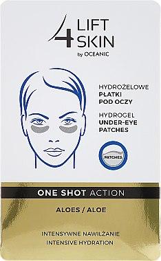 Patch-uri sub ochi - Lift4Skin Hydrogel Under-Eye Patches Aloe