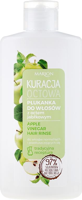 Agent de clătire pentru păr normal și gras - Marion Apple Vinegar Hair Rinse