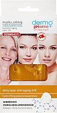 Parfumuri și produse cosmetice Mască de față Hydro-Colagen - Dermo Pharma Gold Anti-Aging Laser 24K