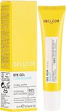 Parfumuri și produse cosmetice Cremă-gel hidratant pentru zona ochilor - Decleor Hydra Floral Everfresh Hydrating Wide-Open Eye Gel