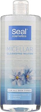 Apă micelară pentru toate tipurile de piele - Seal Cosmetics Micellar Cleansing Water — Imagine N3