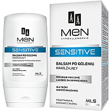 Parfumuri și produse cosmetice Balsam după ras - AA Men Sensitive Moisturizing After-Shave Balm