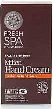 Parfumuri și produse cosmetice Cremă de mâini - Natura Siberica Fresh Spa Russkaja Bania Detox Mitten Hand Cream