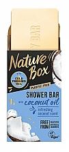 Parfumuri și produse cosmetice Săpun solid cu ulei de cocos - Nature Box Coconut Oil Shower Bar