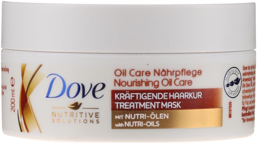 """Mască pentru păr uscat """"Îngrijire nutritivă"""" - Dove Nutritive Solutions"""
