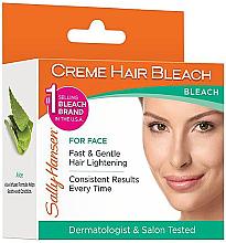 Parfumuri și produse cosmetice Cremă iluminatoare pentru față - Sally Hansen Creme Hair Bleach For Face