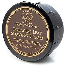 "Parfumuri și produse cosmetice Cremă de ras ""Tutun"" - Taylor of Old Bond Street Tobacco Leaf Shaving Cream Bowl"