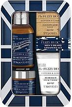 Parfumuri și produse cosmetice Set - Baylis & Harding Fuzzy Duck Men's Ginger & Lime (b/wax/50g + soap/25g + b/sh/100ml + balm/30ml)