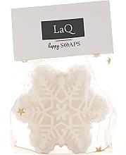"""Parfumuri și produse cosmetice Săpun natural """"Snowflake"""" realizat manual, cu aroma de turtă de Crăciun - LaQ Happy Soaps Christmas Gingerbread"""
