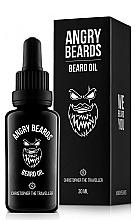 Parfumuri și produse cosmetice Ulei pentru barbă - Angry Beards Christopher the Traveller Beard Oil