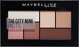 Parfumuri și produse cosmetice Paletă farduri de ochi - Maybelline New York The City Kits Mini