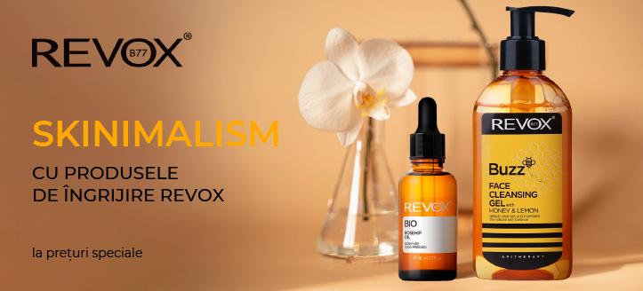 Reducere 20% la toată gama Revox. Prețurile pe site sunt prezentate cu reduceri