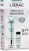 Parfumuri și produse cosmetice Set - Lierac Sebologie (f/concentrate/15ml + f/gel/40ml)