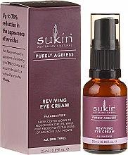 Parfumuri și produse cosmetice Cremă pentru zona ochilor - Sukin Purely Ageless Reviving Eye Cream