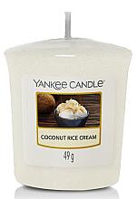 Parfumuri și produse cosmetice Lumânăre parfumată - Yankee Candle Coconut Rice Cream Votive Candle