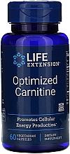 "Parfumuri și produse cosmetice Supliment alimentar ""Carnitina"" - Life Extension Optimized Carnitine"