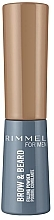 Parfumuri și produse cosmetice Pudră pentru sprâncene - Rimmel Men Brow & Beard Filling Powder