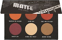 Parfumuri și produse cosmetice Paletă farduri de ochi - Zoeva Voyager Matte Eyeshadow Palette